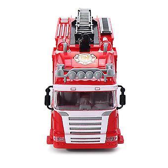 Spray Water Truck Fireman Electric Fire Truck Car