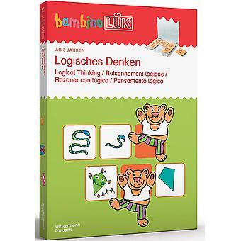 bambinoLK-Sets: bambinoLK-Set: 3/4/5 Jahre: Logisches Denken (bambinoLK-Sets: Kasten + bungsheft/e)