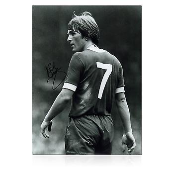 Kenny Dalglish allekirjoitettu Liverpool kuva: King's Debut