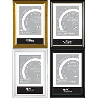 Glass Fronted A4 Certificate Photo Frame (4 varieties available)