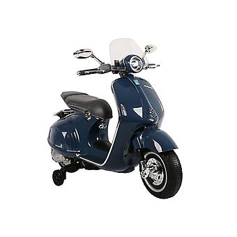 Vespa GTS 300 scooter électrique bleu