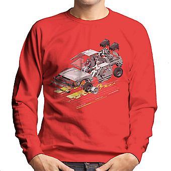 Back to the Future Delorean 3D Men's Sweatshirt