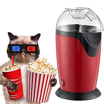 Electric Popcorn Maker, Hot Air Making Machine, Kitchen Desktop, Mini Diy Corn