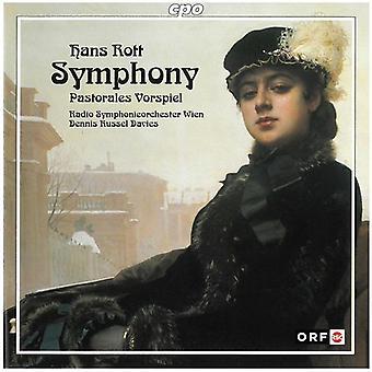 H. Rott - Hans Rott: Symphony; Pastorale Vorspiel [CD] USA import