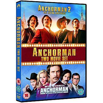 Anchorman 1-2 DVD