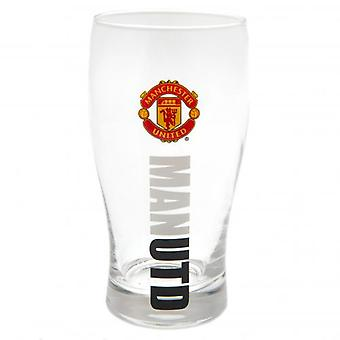 Manchester United FC Tulip Pint Glass