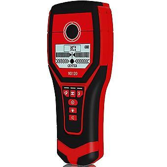 Multifunkční ruční nástěnný detektor kovů MD120 Wood AC Scanner pro detekci kabelů