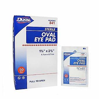 Dukal Eye Pad Small Adhesive Strip, 50 Count