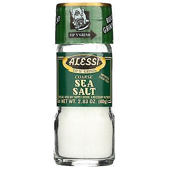 Alessi Grinder Sea Salt Course, Case of 6 X 2.83 Oz