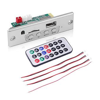 Amplifier Car Audio, Usb Tf, Fm, Radio Module, Wireless Bluetooth Mp3 Decoder