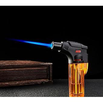 High Jet Flame Butane Gas Transparent Body Design