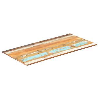 vidaXL الجدول الأعلى مستطيلة 60x120 سم 15-16mm الصلبة المستصلحة الخشب
