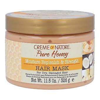 قناع الشعر العسل النقي ترطيب RS كريم الشعر من الطبيعة
