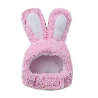 Lindo disfraz conejo conejo sombrero con orejas para gatos y perros pequeños disfraz de fiesta de Halloween Sombreros