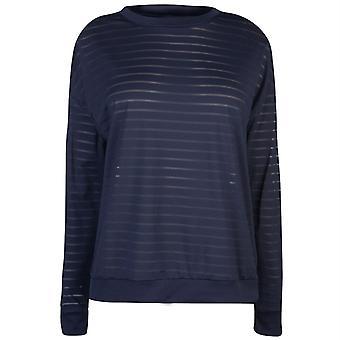 Reebok Mesh Langarm-T-Shirt
