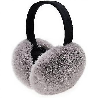New Winter Accessories Earmuffs Ear Warmers Outdoor Earmuffs Unisex For Women Men Children(Gray)
