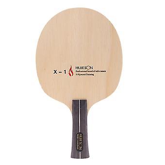 Настольный теннис Пинг-понг Ракетка Лезвие Длинная ручка Захват 5 слоев Среднескоростная бита