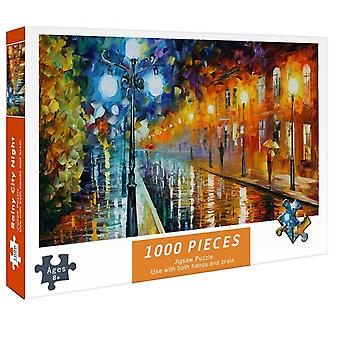 Puzzles For Adults 1000 Pieces Paper Jigsaw Puzzles Educational Intellectual Decompressing Diy Large Puzzle Game Toys Gift