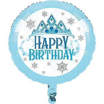 Snow Princess Foil Balloon - Frozen Birthday Party 18 inches