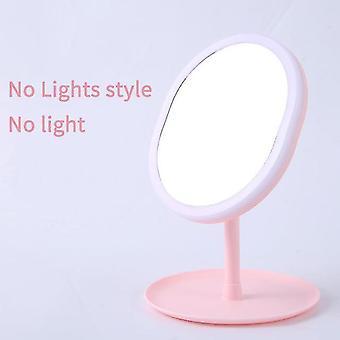 Espejo de maquillaje Led m007-1 usb almacenamiento espejo facial led ajustable atenuador táctil led tocador soporte de espejo