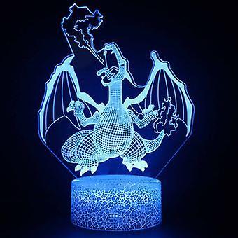 3d Touch Lamp Night Lights Child 7 Couleurs avec télécommande - Pokemon