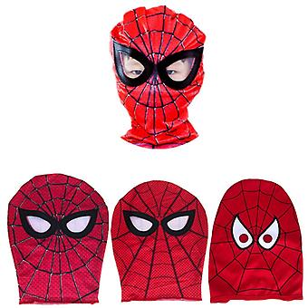 Role Playing Spiderman Mask Boy Girl Halloween Super Heroes Piece Clothing Accessories