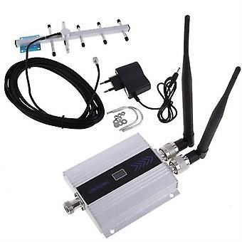 Gsm 900mhz Lcd Booster Förstärkare Mobiltelefon Signal Repeater och Yagi H0177 Antenna Kit