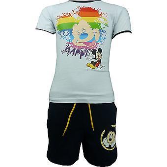 Gutter Disney Mikke Mus T-shirt & Shorts sett OE1313. I00