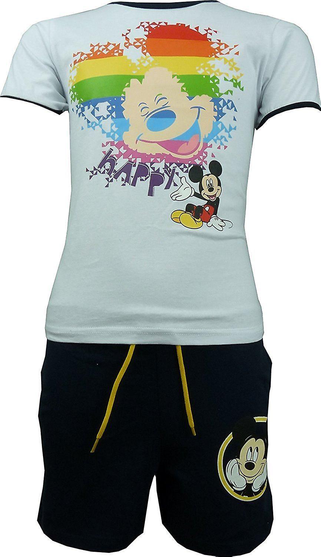 Boys Disney Mickey Mouse T-shirt & Shorts Set OE1313.I00