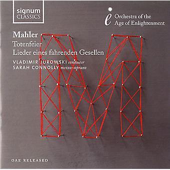 G. Mahler - Mahler: Totenfeier; Lieder Eines Fahrenden Gesellen [CD] USA import