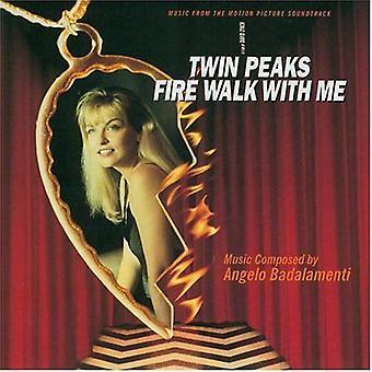 Various Artists - Twin Peaks-brand promenad med mig [CD] USA import