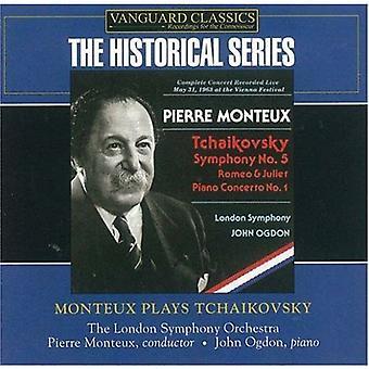 Pierre Monteux - Monteux Plays Tchaikovsky [CD] USA import