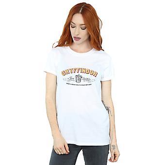 Gryffindor equipo Quidditch novio de la mujer de Harry Potter Fit camiseta