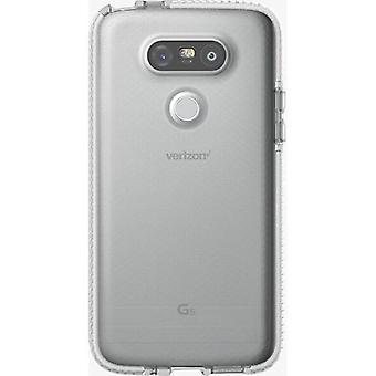 Tech21 Impact Absorbing Evo Check FlexShock Hybrid Case for LG G5 - Clear/White