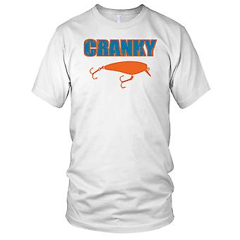 Chagrijnig regel visser hengelaar Mens T Shirt