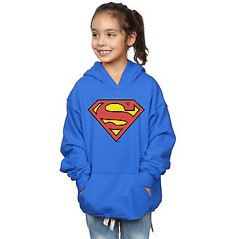 DC Comics niñas Superman Logo Hoodie