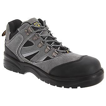 Grafters Mens industriële veiligheid wandelen laarzen
