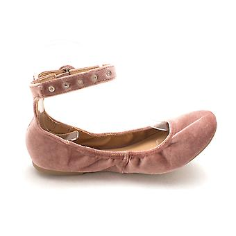 Material Girl naisten Francy1 kangas suljettu Toe nilkan huivi baletti asuntoja
