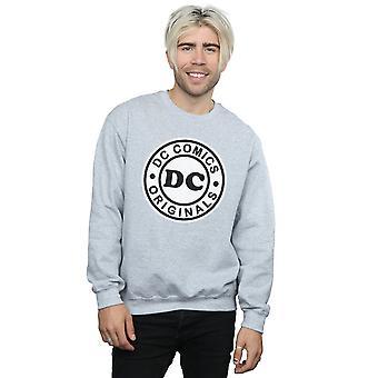 DC Comics Herren DC Originals Logo Sweatshirt