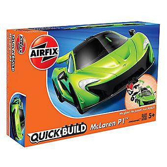 Airfix J6021 Quick Build Mclaren P1 - Green Model Kit