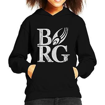 Star Trek Borg Kid de Hooded Sweatshirt