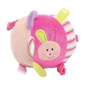 Bigjigs Toys Soft Plush Bella Activity Ball Newborn Baby Sensory