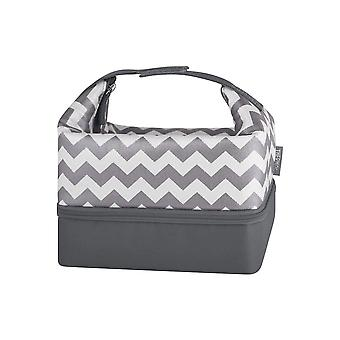 Thermos Raya Pack-In Lunch Kit (Chevron w/Lunch case)