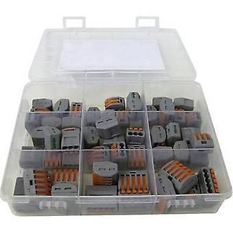 Złącze WAGO WA-741-744 clip Ustaw elastyczne: 0,08 – 2,5 mm², sztywny: 0,08 – 2,5 mm² 54 szt.