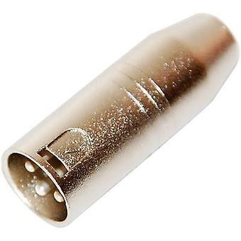 Paccs XLR Adapter [1x XLR plug - 1x Mini XLR plug] Silver