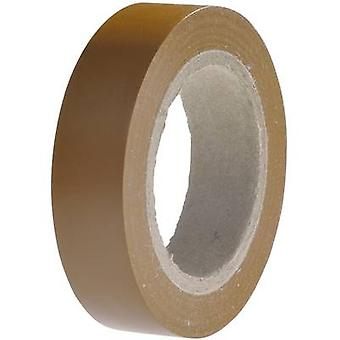 HellermannTyton HelaTape Flex 15 710-00107 Electrical tape HelaTape Flex 15 Brown (L x W) 10 m x 15 mm 1 Rolls