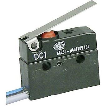 ZF Microswitch DC1C-C3LC 250 V AC 6 A 1 x On/(On) IP67 momentary 1 pc(s)