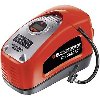 Black & Decker ASI300-XJ Compressor 11 bar Dual chuck, Digital display, Auto turn-off
