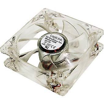 Ventilatore LogiLink FAN104 PC bianco (W x H x P) 120 x 120 x 25 mm
