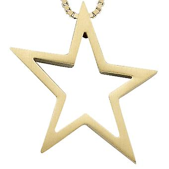 Pendant for necklace star of yellow gold 585 TALLULAH necklace